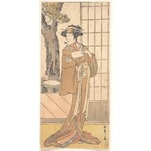 Katsukawa Shunsho: The Actor Segawa Kikunojo Third as an Oiran - Metropolitan Museum of Art