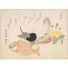 Takashima Chiharu: Papier-Mache Fish and Various Vegetables - Metropolitan Museum of Art