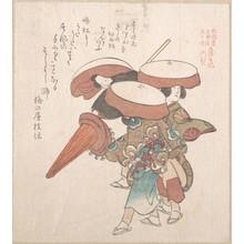 窪俊満: Three Dancers of Sumiyoshi or Suminoye - メトロポリタン美術館