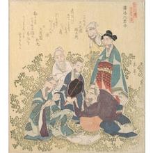 屋島岳亭: Six Superior Men of Reiraka - メトロポリタン美術館