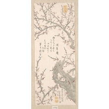北尾重政: Plum Tree in Blossom - メトロポリタン美術館