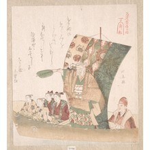 Teisai Hokuba: Boat of Good Fortune - Metropolitan Museum of Art