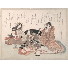 Yanagawa Shigenobu: Women Playing Music - Metropolitan Museum of Art