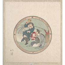 魚屋北渓: Ebisu and Daikoku; Two of the Seven Gods of Good Fortune - メトロポリタン美術館