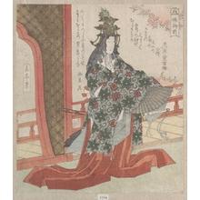 Yashima Gakutei: Lady Hotoke Dancing - Metropolitan Museum of Art