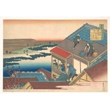 葛飾北斎: Poem by Lady Ise of the 9th Century - メトロポリタン美術館