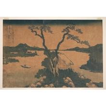葛飾北斎: Lake Suwa in Shinano Province (Shinshû Suwako), from the series Thirty-six Views of Mount Fuji (Fugaku sanjûrokkei) - メトロポリタン美術館