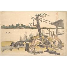 葛飾北斎: Imadogawa - メトロポリタン美術館