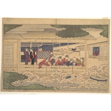 Kitagawa Utamaro: Viewing Cherry Blossoms - Metropolitan Museum of Art