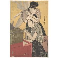 喜多川歌麿: In the Kitchen - メトロポリタン美術館