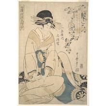 Kitagawa Utamaro: A Courtesan - Metropolitan Museum of Art