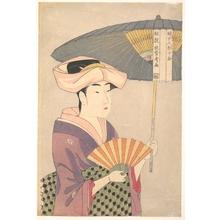 喜多川歌麿: Woman with Parasol - メトロポリタン美術館
