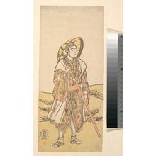 Katsukawa Shunko: The Third Sawamura Sojuro as a pilgrim to Kannon Shrine - Metropolitan Museum of Art