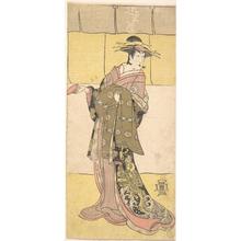 Katsukawa Shunko: An Actor of the Segawa Line (Tomisaburo?) as a Courtesan - Metropolitan Museum of Art