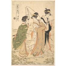 Rekisentei Eiri: Ide no Yamabuki - メトロポリタン美術館