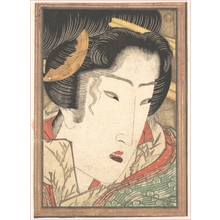 渓斉英泉: Rejected Geisha from Passions Cooled by Springtime Snow - メトロポリタン美術館