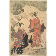 Hosoda Eishi: Ladies at a Picnic - Metropolitan Museum of Art