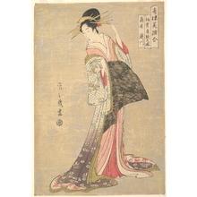 Hosoda Eishi: Takigawa of the Ôgiya House - Metropolitan Museum of Art