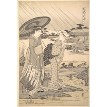 Hosoda Eishi: Ono no Komachi Praying for Rain - Metropolitan Museum of Art
