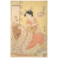 Hosoda Eishi: Ono no Komachi - Metropolitan Museum of Art