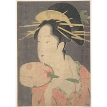 Chokosai Eisho: A Beauty - Metropolitan Museum of Art