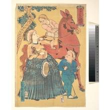 歌川芳豊: French Pastimes - メトロポリタン美術館