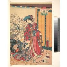 Utagawa Kunisada: Genji roku no hana - Metropolitan Museum of Art