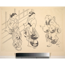 奥村政信: Two Courtesans - メトロポリタン美術館