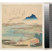 魚屋北渓: Sumida River - メトロポリタン美術館
