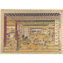 Furuyama Moromasa: A Game of Hand Sumo in the New Yoshiwara - Metropolitan Museum of Art