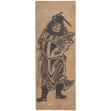 Okumura Masanobu: Shoki, the Demon–Queller - Metropolitan Museum of Art