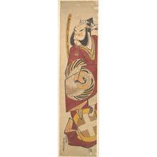 鳥居清信: The Actor Bandô Hikosaburô 1st (?) - メトロポリタン美術館