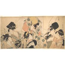 Kitagawa Utamaro: Narihira's Journey to the East - Metropolitan Museum of Art