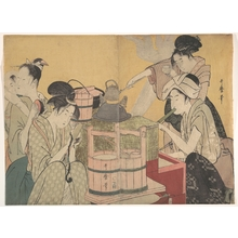 Kitagawa Utamaro: The Kitchen - Metropolitan Museum of Art