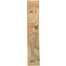 Isoda Koryusai: In the Yoshiwara District - Metropolitan Museum of Art