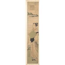 Suzuki Harunobu: A Young Komuso - Metropolitan Museum of Art