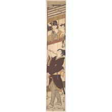 Torii Kiyonaga: A New Year's Scene - Metropolitan Museum of Art