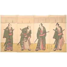 Katsukawa Shunsho: Ichikawa Danjûrô V in the Scene