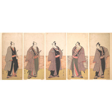 Katsukawa Shunsho: Ichikawa Danjuro V as a Chivalrous Commoner (Gonin Otoko) from the Play