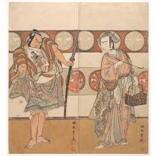Katsukawa Shunsho: The Actors Ichikawa Yaozo III and Nakamura Sukegoro II - Metropolitan Museum of Art