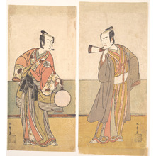 Katsukawa Shunsho: The Actors the Fourth Matsumoto Koshiro and the Arashi Sangoro - Metropolitan Museum of Art