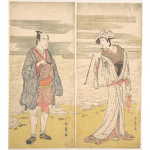 Katsukawa Shunjô: The Fourth Matsumoto Koshiro as a Man Dressed in a Short Kimono - メトロポリタン美術館