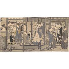 細田栄之: Furyu Yatsushi Genji Monogatari - メトロポリタン美術館