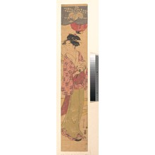 Hosoda Eishi: A Girl with a Fan - Metropolitan Museum of Art