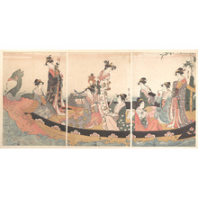 Hosoda Eishi: The Treasure Boat - Metropolitan Museum of Art