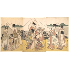 Rekisentei Eiri: Narihira's Journey to the East - Metropolitan Museum of Art