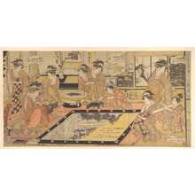 Kitagawa Kikumaro: A Picture to be Framed and Presented to the Asakusa Kwannon - メトロポリタン美術館