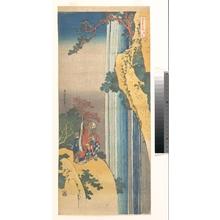 Katsushika Hokusai: Ri Haku from the series Mirrors of Japanese and Chinese Poems (Shiika shashin kyô) - Metropolitan Museum of Art