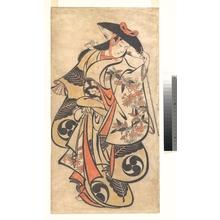 Torii Kiyonobu I: Kabuki Actor - Metropolitan Museum of Art