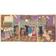 Toyohara Chikanobu: Concert of European Music - Metropolitan Museum of Art